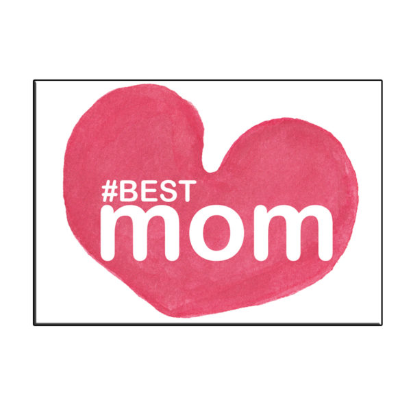 A6 BEST MOM IN HART KAART