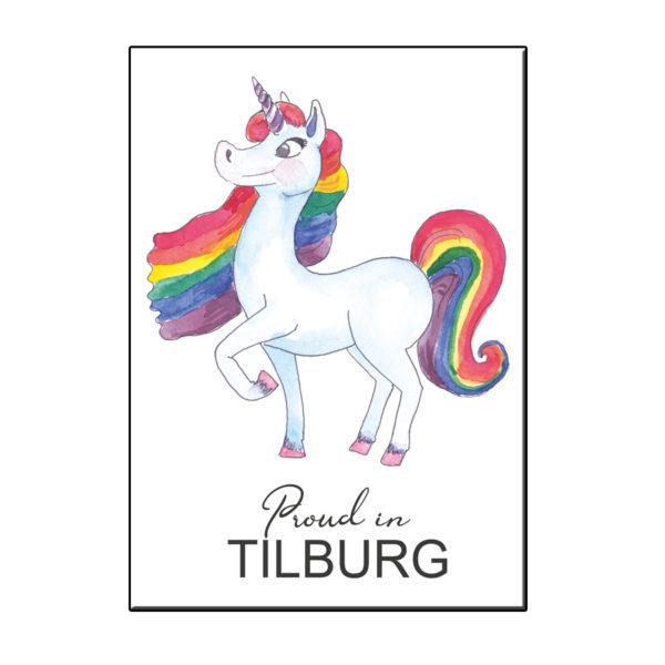 A6 PROUD IN TILBURG KAART