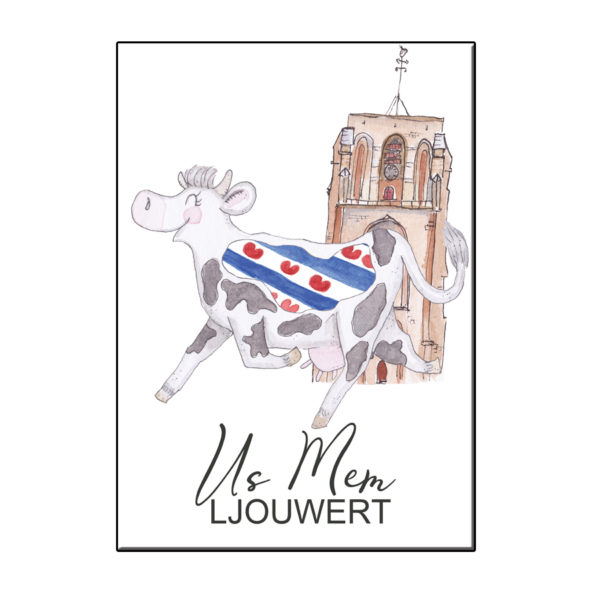 draagt de Friese vlag als US Mem in Ljouwert!